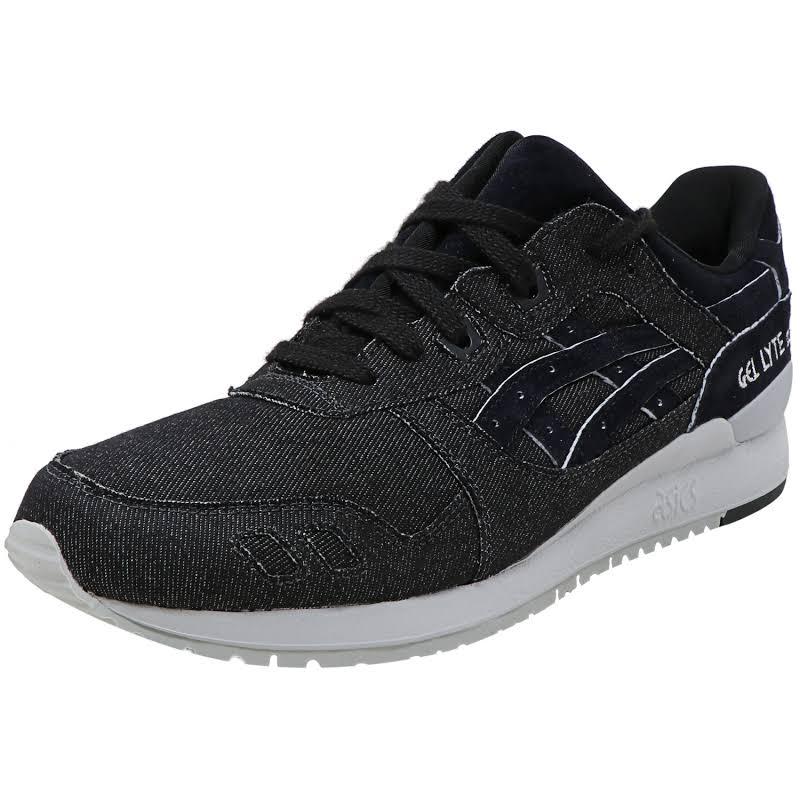 Asics Tiger Gel-Lyte Iii Mid Grey / Black Ankle-High Sneaker 11M