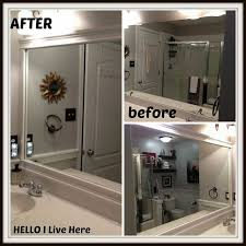 Frames For Bathroom Wall Mirrors Best Choices Lighted Bathroom Wall Mirror Inspiration Home Designs