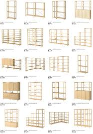 ikea ivar shelving system architecture interiors cabinetry