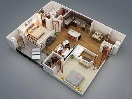 Interior Design Plans 3d Two Bedroom House Layout Design Plans 22449 Interior Ideas