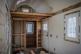 Painting Interior Log Cabin Walls by Interior Walls Our Tiny House Construction Since 2013