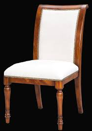 Dining Chair Price Solid Walnut Leather Upholstered Dining Chairs With Brass Nails