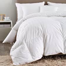 Goose Feather Down Comforter Puredown White Goose Down Comforter Cotton Shell 500tc Stripe White