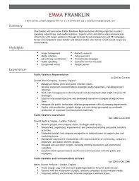 relations resume template media relations specialist resume pr resume template