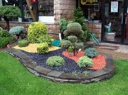 unique stone garden ideas exotic and freshing minimalist garden