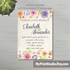 Invitation Card Dimensions Invitation Template Wedding Invitation Template Rsvp Thank You Card
