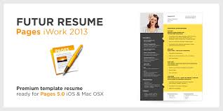 resume template for pages page resume iwork template pages templates cv 2 format