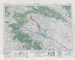 1 8 Maps Eastern Europe Ams Topographic Maps Perry Castañeda Map