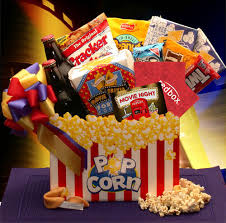 Snack Baskets Movie Night Gift Gift Basket Guru