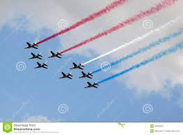The France Flag French Flag In The Air Editorial Photo Image Of Propeller 32026931
