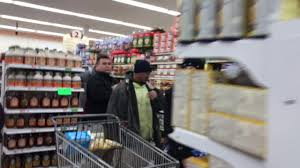 this is how grocery store lines were today the boston globe