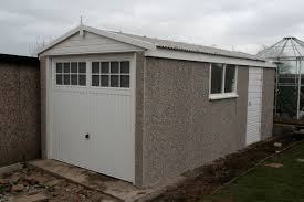 apex roof concrete garages apex style prefab garages garages