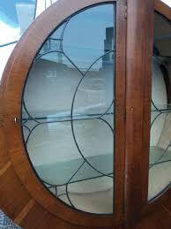 Art Deco Round Display Cabinet Art Deco Round Display Cabinet 203862 Sellingantiques Co Uk