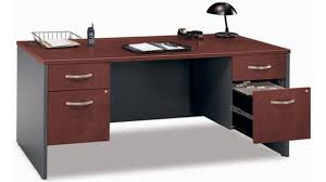 saratoga executive collection manager s desk bush furniture for your home and office bush furniture 2go