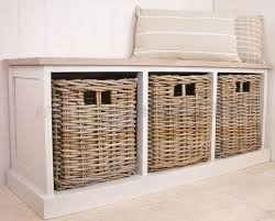 Small Storage Bench With Baskets Coaster Oak Large Storage Bench With Baskets 501060 Hashtag Digitals