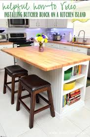 kitchen island with butcher block top butcher block kitchen island designs sedona butcher block