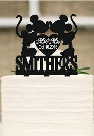 mickey and minnie cake topper mickey mouse cake topper wedding cake topper personalized cake