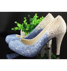 Wedding Shoes Sandals Bling Wedding Shoes Bridal Shoes Sparkly Prom Shoes Women High