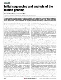 kã nstliche nã gel design initial sequencing and analysis of the human genome pdf