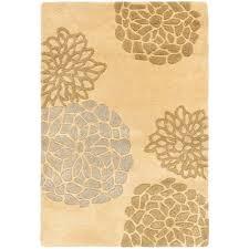 Botanical Rugs Safavieh Soho Beige Wool 2 Ft X 3 Ft Area Rug Soh712a 2 The