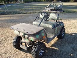 let u0027s see you hunting golf carts