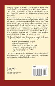 catholic thanksgiving prayer the essential catholic prayer book a collection of private and