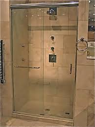 semi frameless shower doors in warren