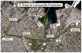 Lga Terminal Map Revisiting An N Train Extension To Laguardia Second Ave Sagas