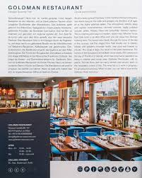 Wohnzimmer Heilbronn Speisekarte Goldman Restaurant