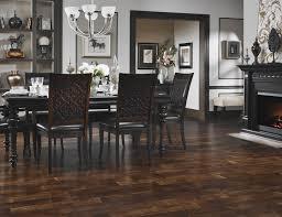 Dark Wood Laminate Flooring Decoration Small Dining Room With Gray Wall And Wood Laminate