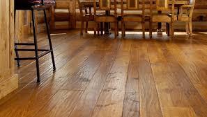 distressed hardwood flooring dining robinson house decor