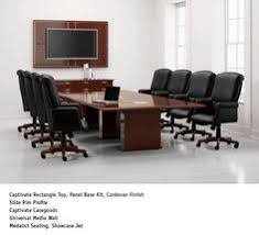 National Conference Table National Office Furniture Captivate Table With Eloquence Task