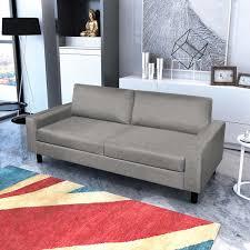canapé gris foncé canapé gris foncé gris clair en tissu canapé de salon séjour
