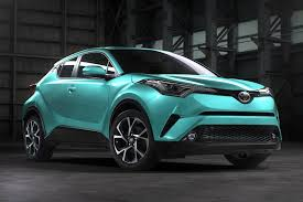 suv toyota chr 2017 toyota c hr in different colors toyota c hr forum