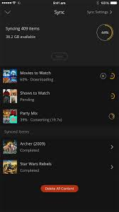 our shiny new ios app plex