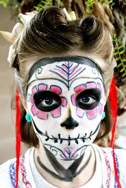 Skeleton Face Paint For Halloween by 84 Best Sugar Skulls Images On Pinterest Sugar Skulls Day Of