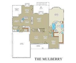 custom floor plan mulberry custom floor plan best builder frederick county va