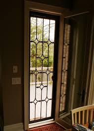 Secure Sliding Windows Decorating Metal Security Doors For Sliding Glass Doors Security Door Ideas