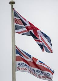Flag Of The Uk Armed Forces Day Flag Raised Across The Uk U2013 Armed Forces Day