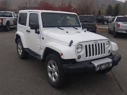 white jeep sahara 2 door white jeep wrangler in idaho for sale used cars on buysellsearch