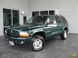 1998 dodge durango 1998 forest green metallic dodge durango slt 4x4 34513299