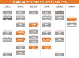 cours de cuisine len re sporting porticcio planning des cours collectifs 2017 2018