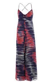 maxi kjoler millen cocktail kjole millen modern print maxi kjoler
