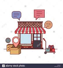 Awning Online Shop Awning Stock Photos U0026 Shop Awning Stock Images Alamy