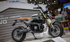 honda grom 50 scrambler concept bikebrewers com