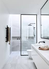 black and blue bathroom ideas bathroom design idea black shower frames contemporist