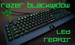 razer blackwidow chroma lights not working razer blackwidow led fix works with chroma 2014 2013 edition