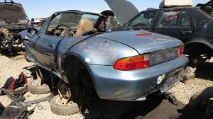 car junkyard michigan junkyard find 1998 bmw z3