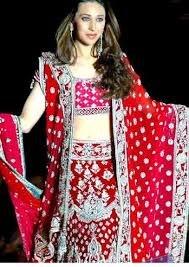 wedding chunni bridal lehenga vogue