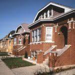 chicago bungalow house plans brick californian bungalow house exterior bay windows